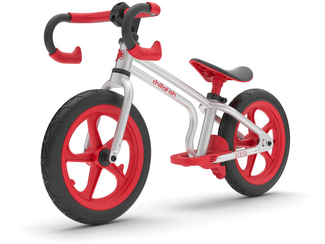 Chillafish Fixie Balance Bike Kinder red